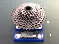 Shimano-XTR-M9000-mechanical-actual-weights-cassette01-600x450