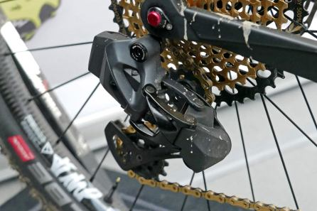 SRAM-XX1-Blackbox-eTap-Eagle-prototype-wireless-mountain-bike-drivetrain-groupset_Albstadt_Malene-Degn_Ghost-Factory-Team_rear-derailleur-close-up